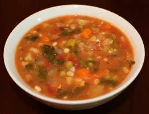 Low Carb Soup Recipes-Rainbow Soup