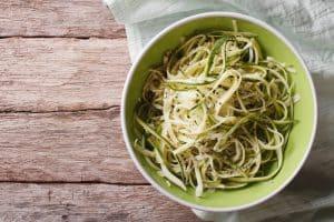 Ketogenic Zucchini Alfredo