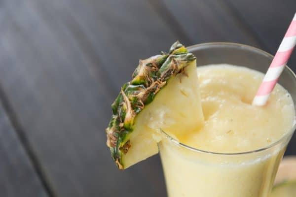 Coconut Pineapple Keto Smoothie